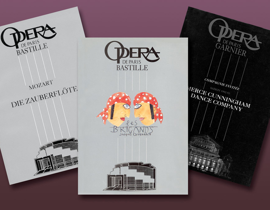 Livrets Opéra Bastille