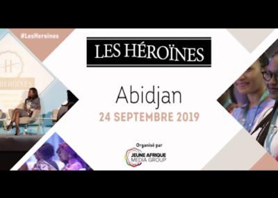 """Bannière animée «Les héroïnes"""""""